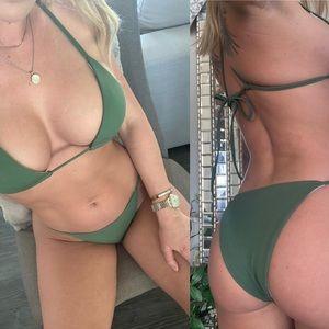 🌹 Tawny Triangle Bikini